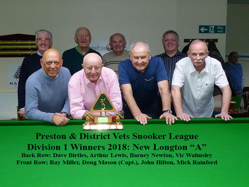 Winners of Division 1 in a