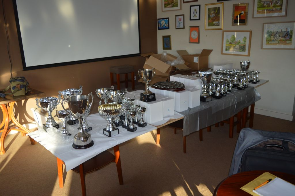Presentation Night 22nd May 2018 Trophies
