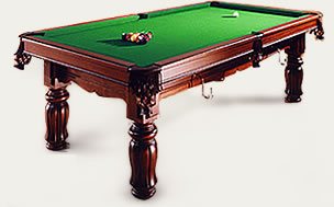 UK based manufacturers and suppliers of antique snooker tables, Pool tables and snooker dining tables and accessories 