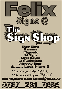 Felix Signs @ The Sign Shop